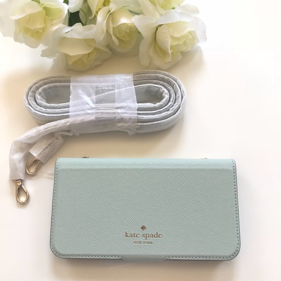 new product 84d93 59f4e kate spade Accessories | Folio Crossbody Iphone X Case | Poshmark